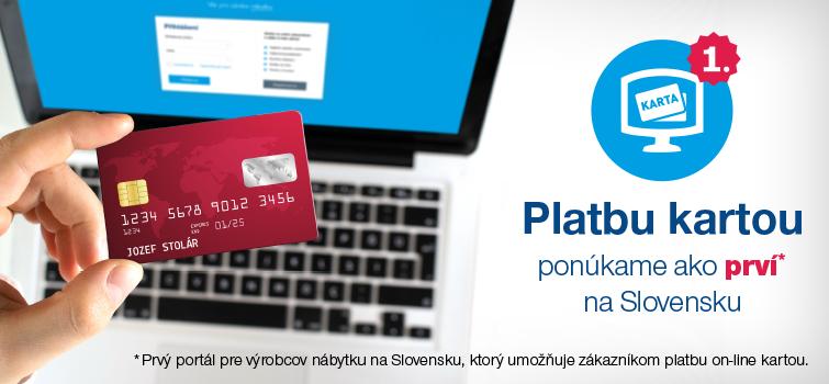 On-line platba kartou