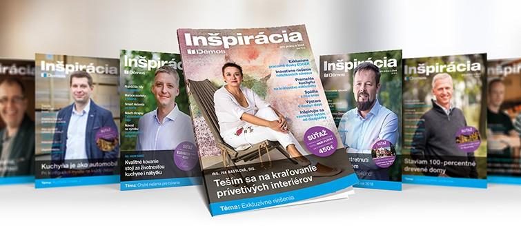 Inšpirácia pre prácu a život - všetky vydania
