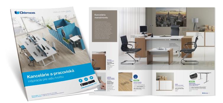 Brožúra kancelárie a pracoviská