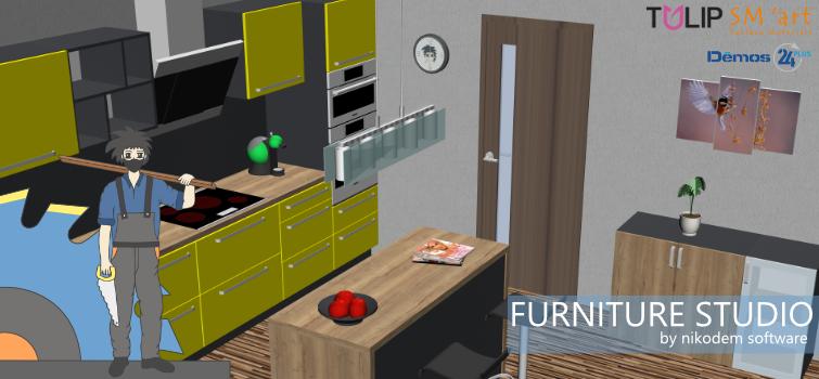Naše produkty v programe Furniture Studio