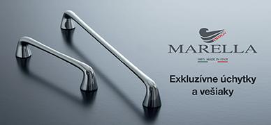 Brožúra úchytiek a vešiakov Marella Design