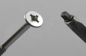 Skrutka Uniquadrex 3,5X16 biely Zn