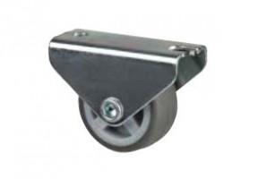 STRONG Koliesko 30 mm, šedé, pevné, mekč. behúň