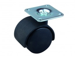 STRONG Koliesko 40 mm, čierne, platnička
