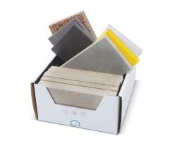Vzorkovník krabička CETRIS Základné typy