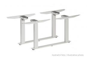 MILADESIGN stolová kancelárska konštrukcia dvojitá el. LN 3