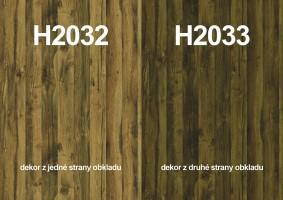 Zástena H2032 ST10/ H2033 ST10 4100/640/9,2