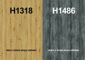 Zástena H1318 ST10/ H1486 ST36 4100/640/9,2