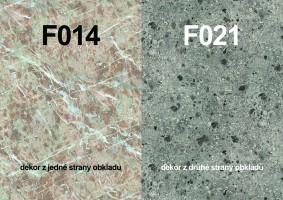 Zástena F014 ST9/ F021 ST75 4100/640/9,2