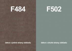 Zástena F484 ST87/ F502 ST2 4100/640/9,2