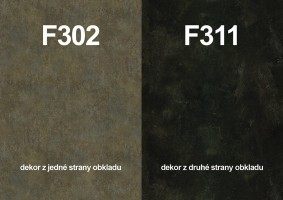 Zástena F302 ST87/ F311 ST87 4100/640/9,2