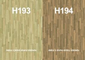 Zástena H193 ST12/ H194 ST12 4100/640/9,2