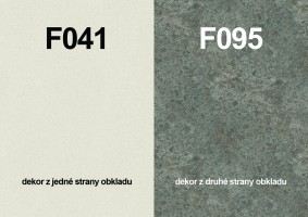Zástena F041 ST15/ F095 ST87 4100/640/9,2