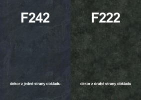Zástena F242 ST10/ F222 ST76 4100/640/9,2