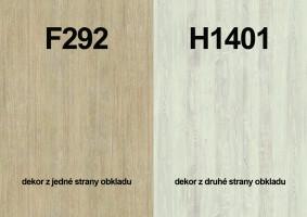 Zástena F292 ST9/ H1401 ST22 4100/640/9,2