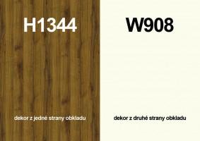 Zástena H1344 ST32/ W908 ST37 4100/640/9,2