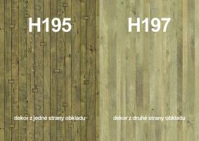 Zástena H195 ST10/ H197 ST10 4100/640/9,2