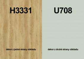 Zástena H3331 ST10/ U708 ST9 4100/640/9,2