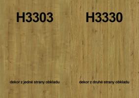 Zástena H3303 ST10/ H3330 ST36 4100/640/9,2