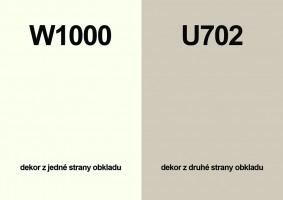 Zástena W1000 ST76/ U702 ST89 4100/640/9,2