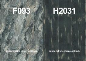 Zástena H2031 ST10/ F093 ST15 4100/640/9,2