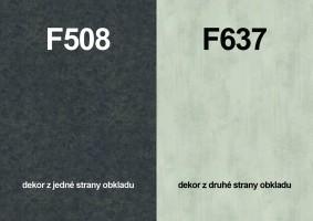 Zástena F508 ST10/ F637 ST16 4100/640/9,2