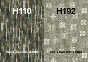 Zástena H110 ST9/ H192 ST10 4100/640/9,2