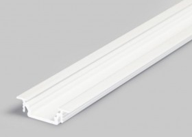 TM-profil LED Groove alu biely 4000mm