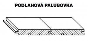 Palubky PODLAH. RT SMREK AB 5000/146/24