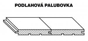 Palubky PODLAH. RT SMREK AB 4000/146/24