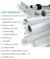 REHAU metallic-line set20mm 900/1000 hliník