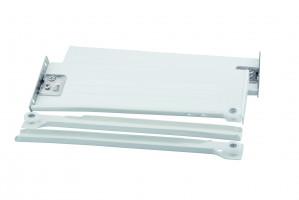 STRONG výsuv s bočnicou H150/500 biely s