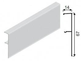 SEV-krycí profil Galaxy 1,5 m