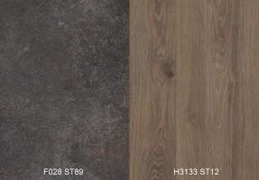 Zástena F028 ST89/ H3133 ST12 4100/640/9,2