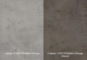 Zástena F186 ST9/ F187 ST9 4100/640/9,2