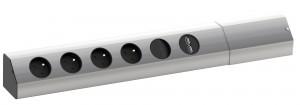 Bachmann Casia 923.012 4x230 vyp USB ALU