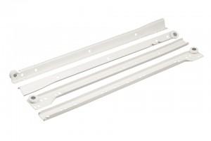 FGV kolieskový výsuv 400 mm biely