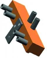 Montážní šablona pro závěs SZ 82 14-16mm