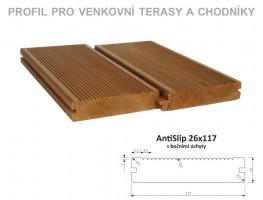 TERASY ThermoWood AntiSlip 26/117/3000 BÚ