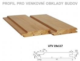 PALUBOVKY fasáda BOROVICA ThermoWood Tatran (UTV) 4200/117/19