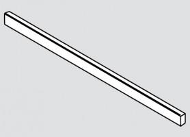 BLUM ZR7.1080U čelný reling Legrabox biely