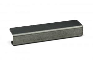TULIP úchytka  Linea - 96/140 čierna oceľ