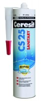 CERESIT CS25 SILIKON SANIT BIELY  280 ml