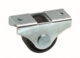STRONG Koliesko 25 mm, čierne, pevné