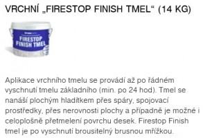 TMEL-FIRESTOP FINISH 14kg