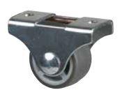 STRONG Koliesko 25 mm, šedé, pevné, mekč. behúň