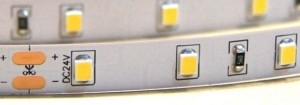 STRONG LED pásik 12W/m (120) 24V biela neutrálna