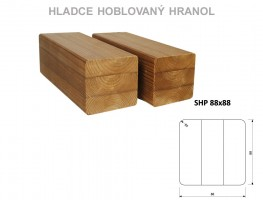 TERASY ThermoWood HRANOL SHP 88/88/4000