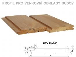 PALUBOVKY fasáda BOROVICA ThermoWood Tatran (UTV) 4200/140/19