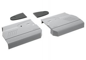 BLUM 20K8000 krytky HK bez S-D šedé